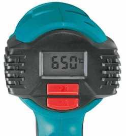 Décapeur Thermique À Température Variable Avec Affichage Numérique LCD Makita HG6530VK KIT