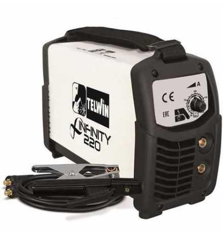 Poste à souder MMA Infinity 220 200A 230V + accessoires TELWIN