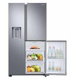 Réfrigérateur Side By Side Samsung 604 L -Silver (RS68N8670SL)