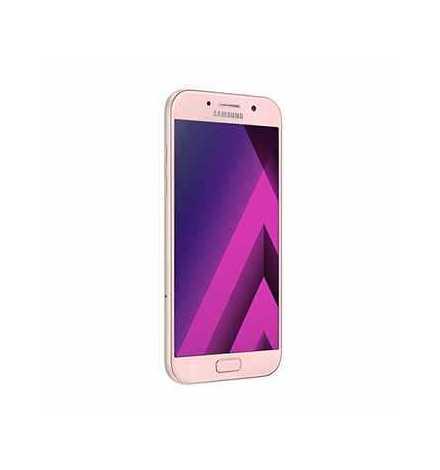 Téléphone Portable Samsung Galaxy A5 2017 / Double SIM / 4G / Peach-Cloud + Gratuité 30 Dt + SIM Offerte