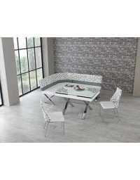 Table coin repas B24 JOY- Blanc