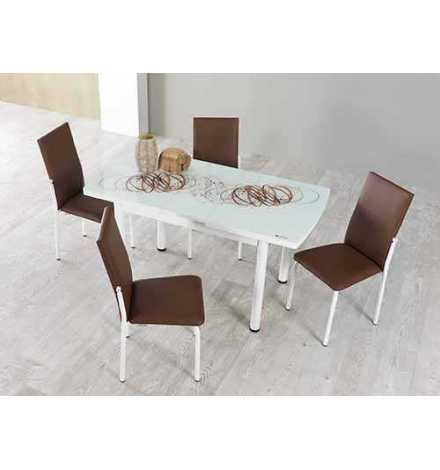 TABLE M41 CAFÉ EN VERRE-M41