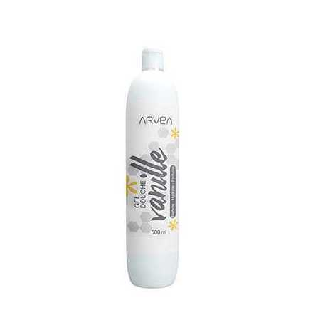 Gel douche vanille 500 ml - Arvea