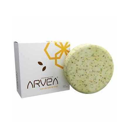 Savon au son de blé et miel 85 gr - Arvea