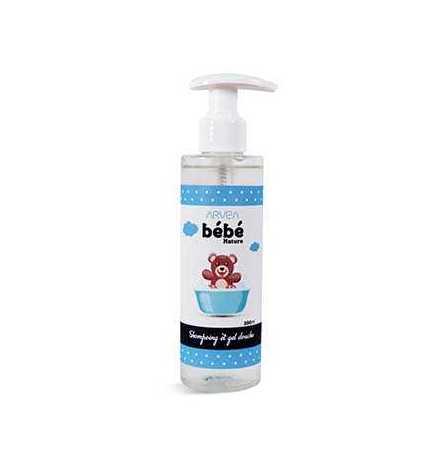 Shampoing gel douche bébé 200 ml - Arvea