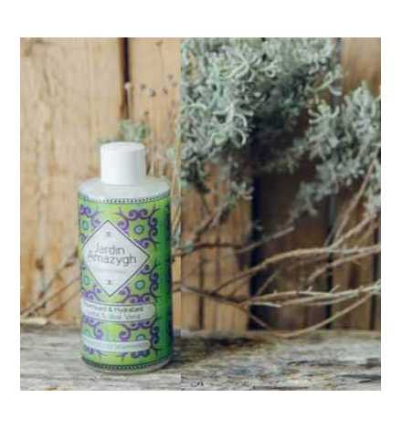 Shampoing liquide à l'aloe vera et au beurre de karité 125 ml - Jardin Amazygh