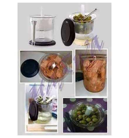 Boite à Condiments Tupperware