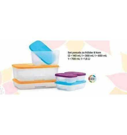 Set réfrigérateur (6) Multi- couleurs