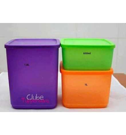 Set Cubix Tupperware