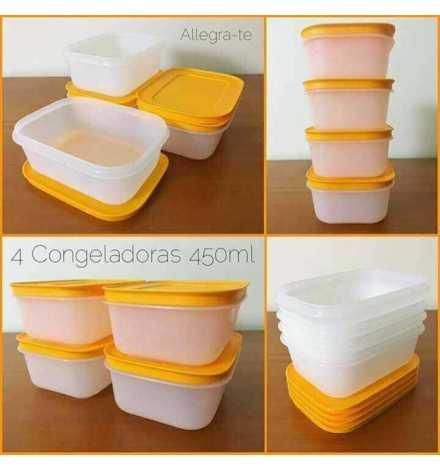boite congélation compacte basse 450 ml ( 4)
