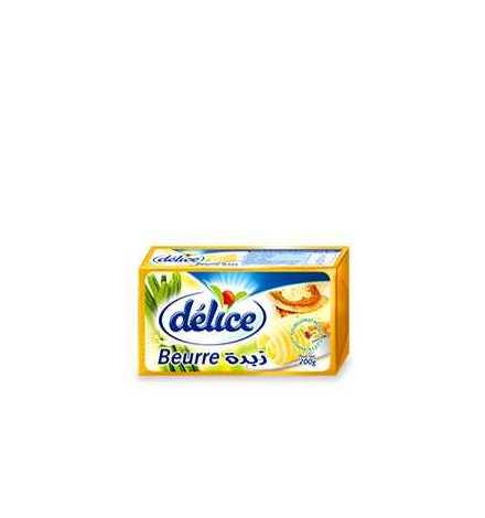 Beurre doux non salé 200 gr