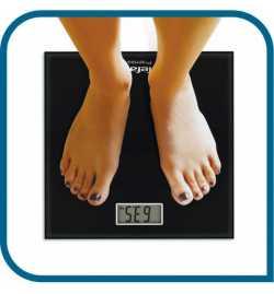 Pèse personne Noir 160Kg - Tefal