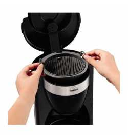 Cafetière 15 tasses 1000W Noir - Tefal CM180811