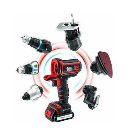 Outil multifonction 14.4V Multievo MT143K - Black and Decker