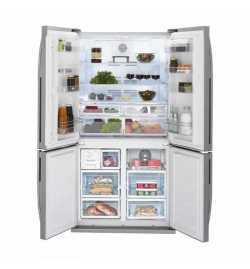 Réfrigérateur américain Side by side Inox 610 L no frost - Beko