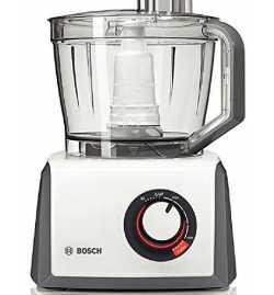 Robot Multifonction 1000W Gris Anthracite/Blanc Glossy [ Classe énergétique A ] - Bosch