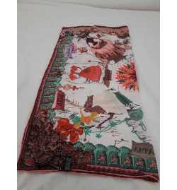 foulard 100% soie