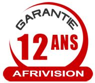 12 ANS DE GARANTIE